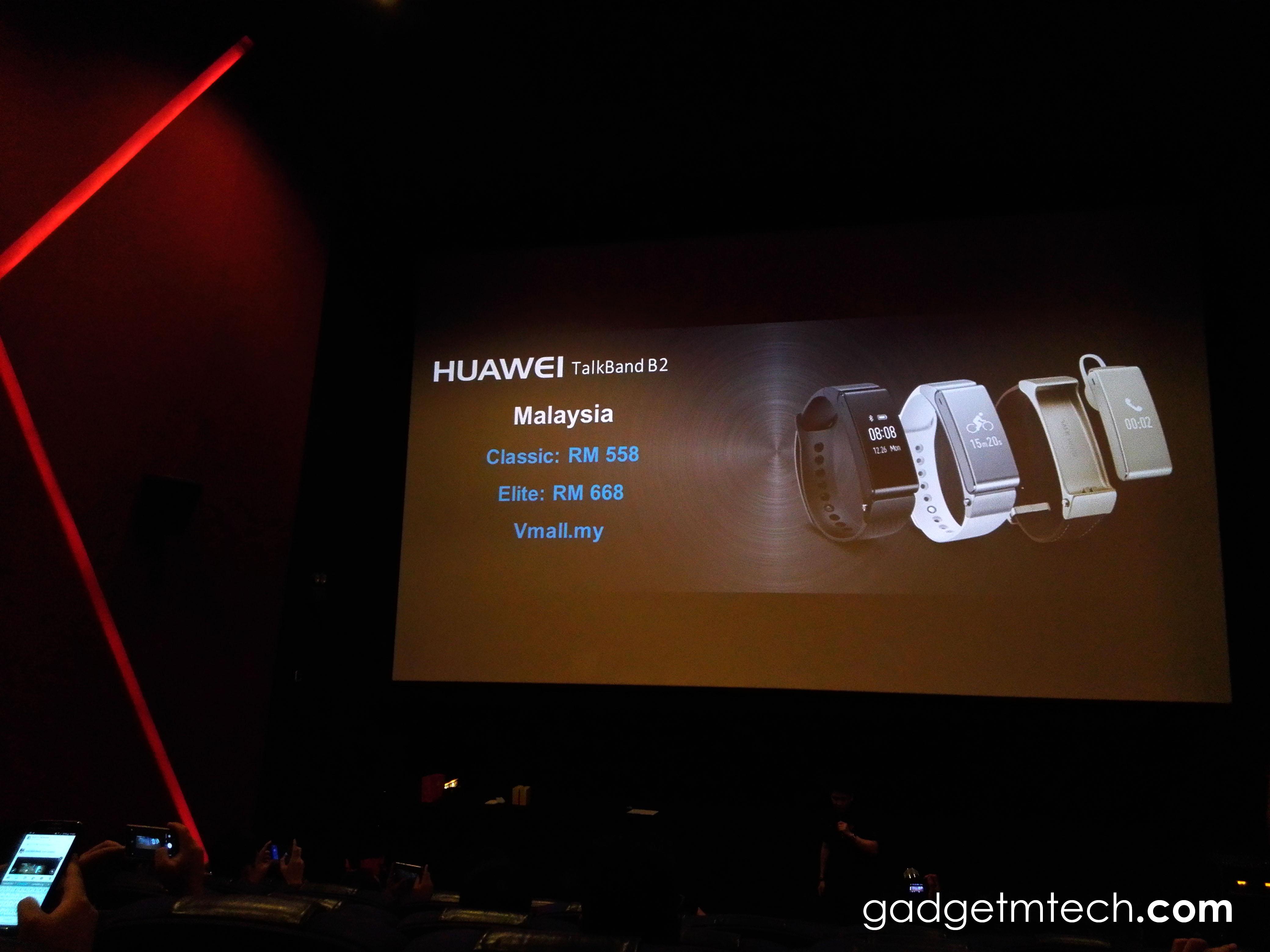 Huawei TalkBand B2 Price