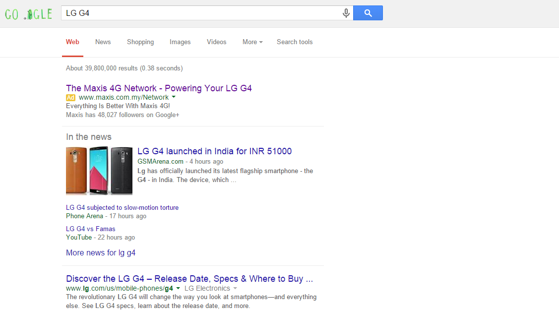 LG G4 Malaysia Leak