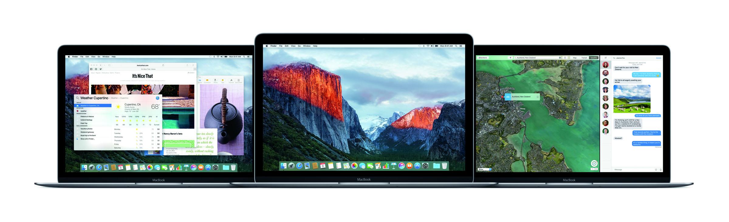 Mac OS X El Capitan - 1