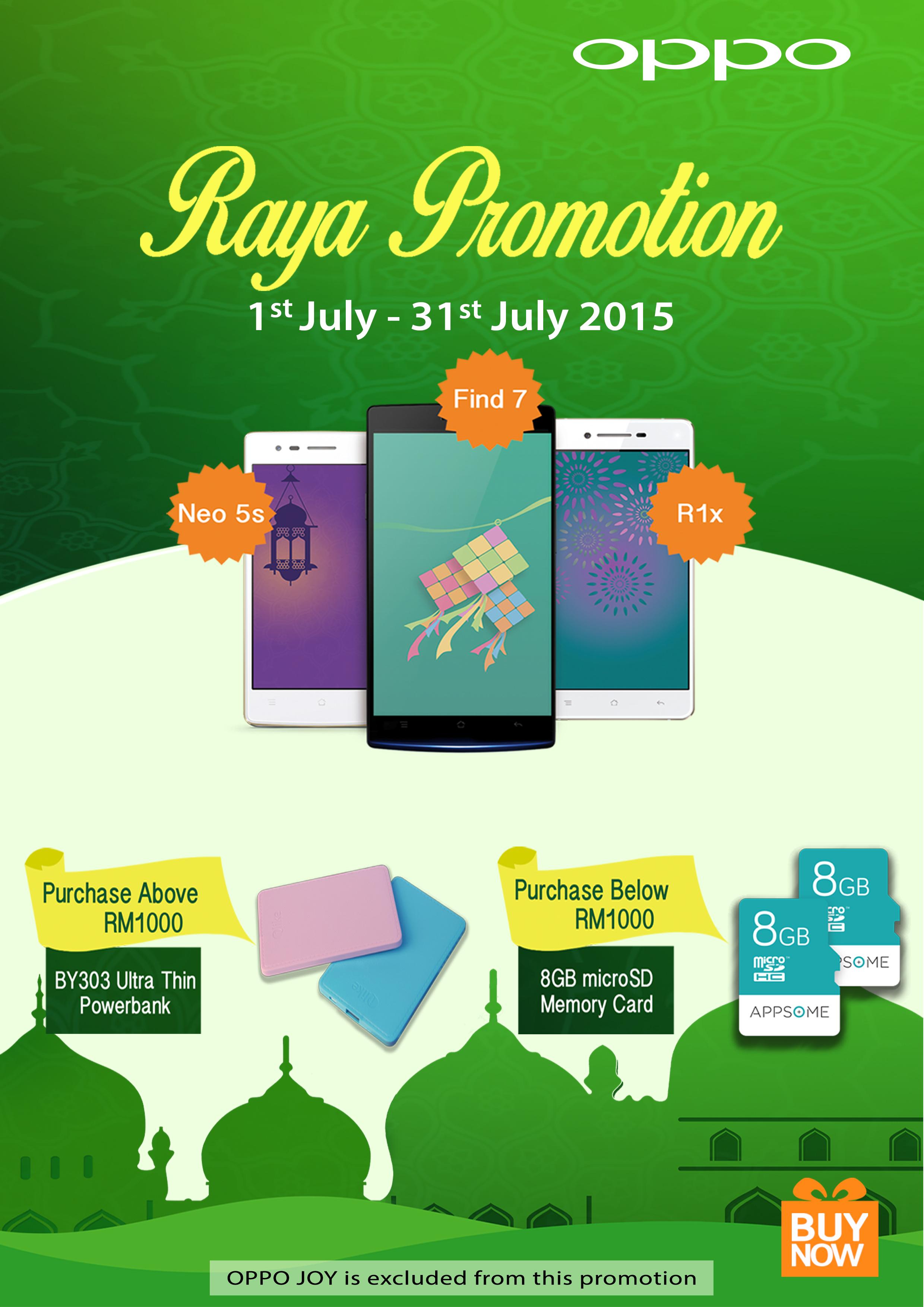 OPPO Malaysia Raya Promotion