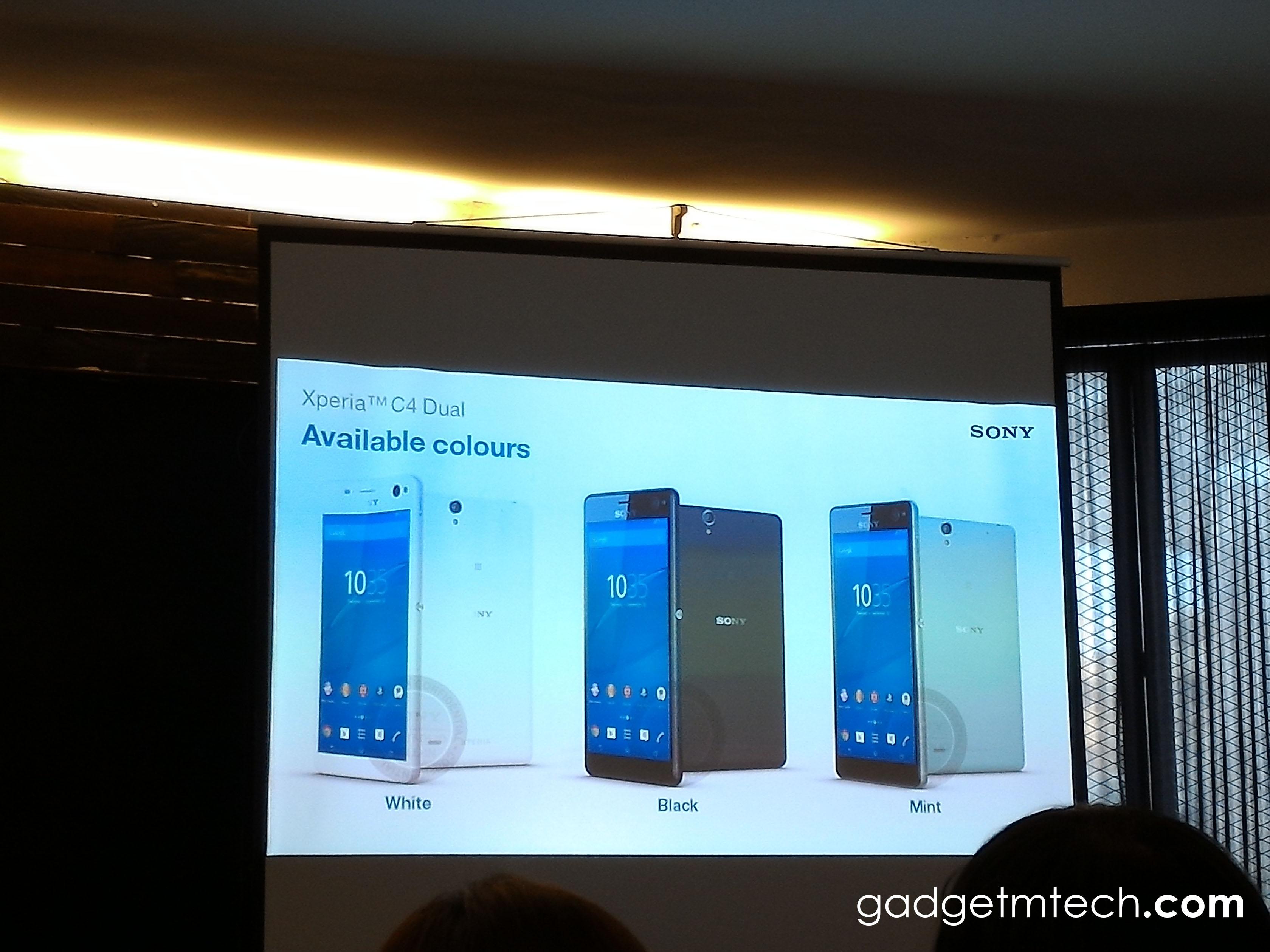 Sony Xperia C4 Dual Malaysia - 2