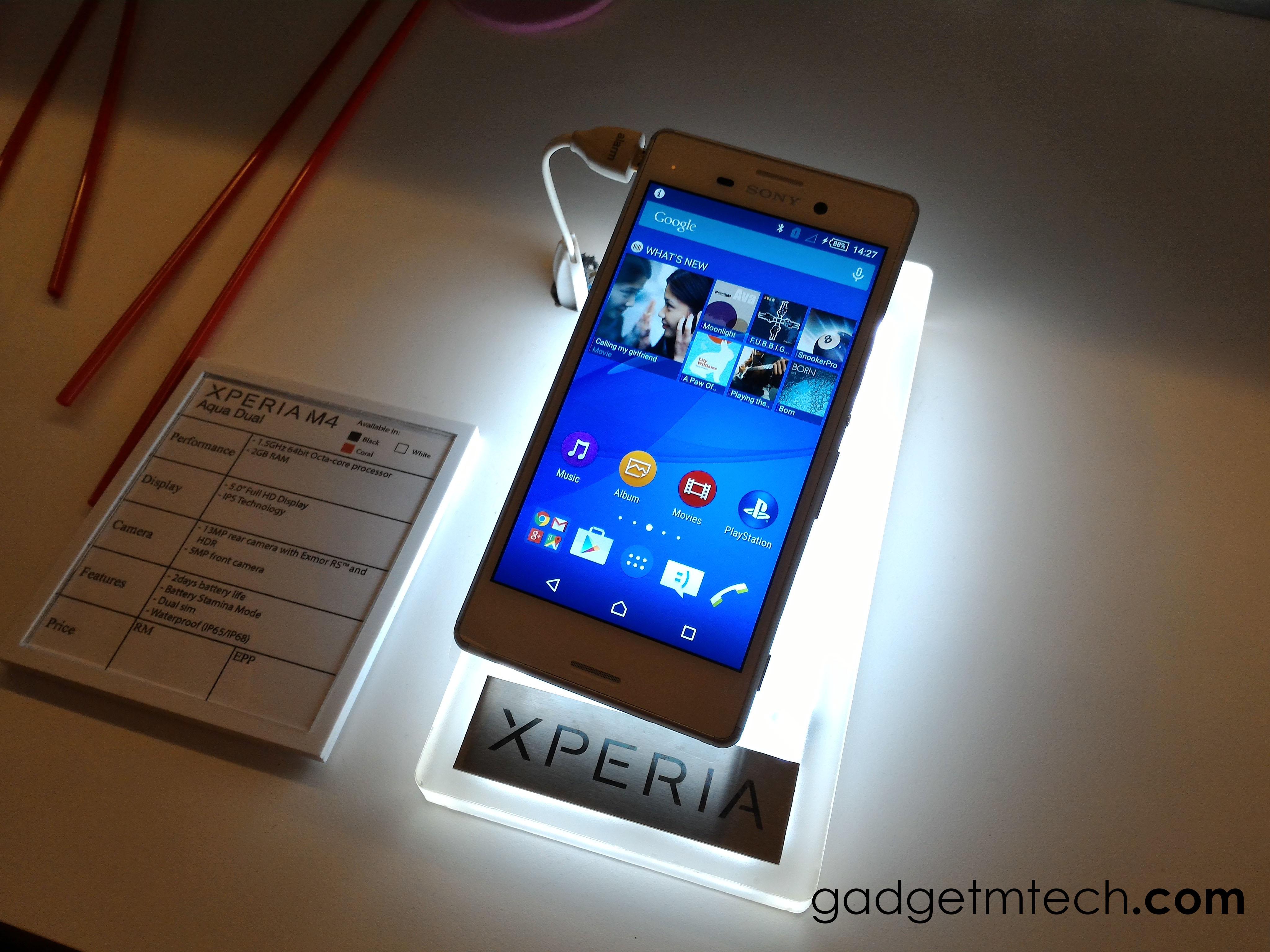 Sony Xperia M4 Aqua Dual Malaysia - 1
