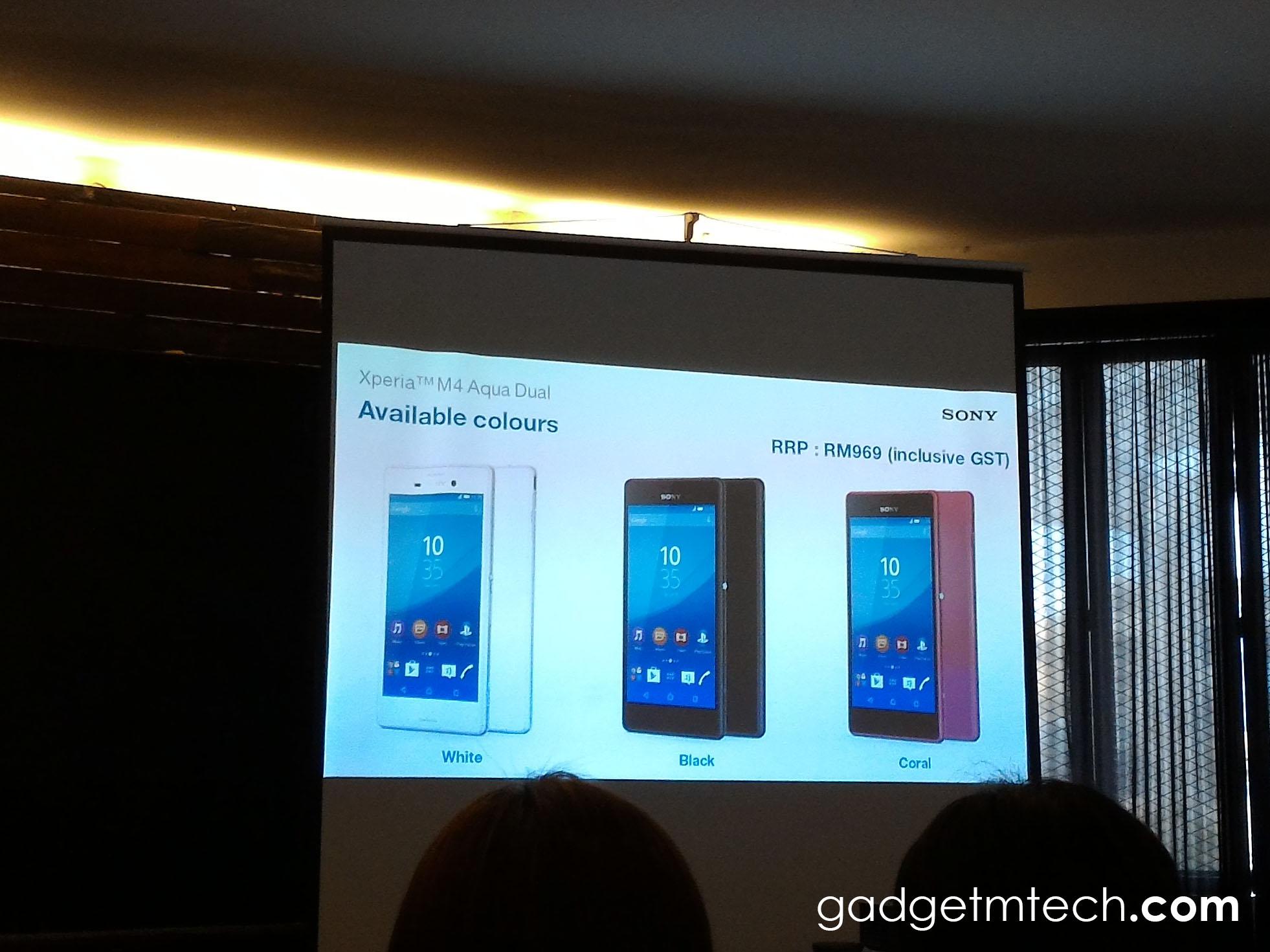 Sony Xperia M4 Aqua Dual Malaysia - 2