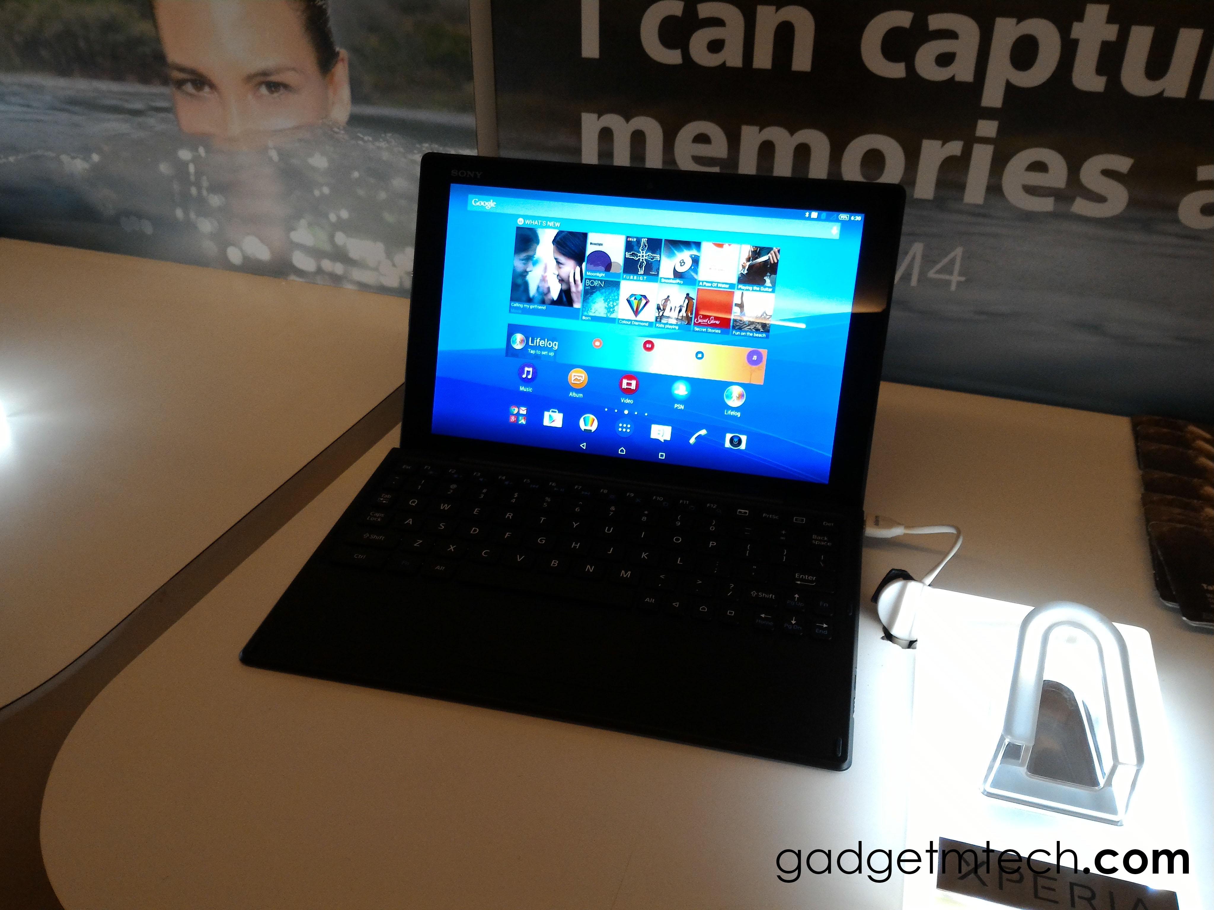 Sony Xperia Z4 Tablet Malaysia - 1