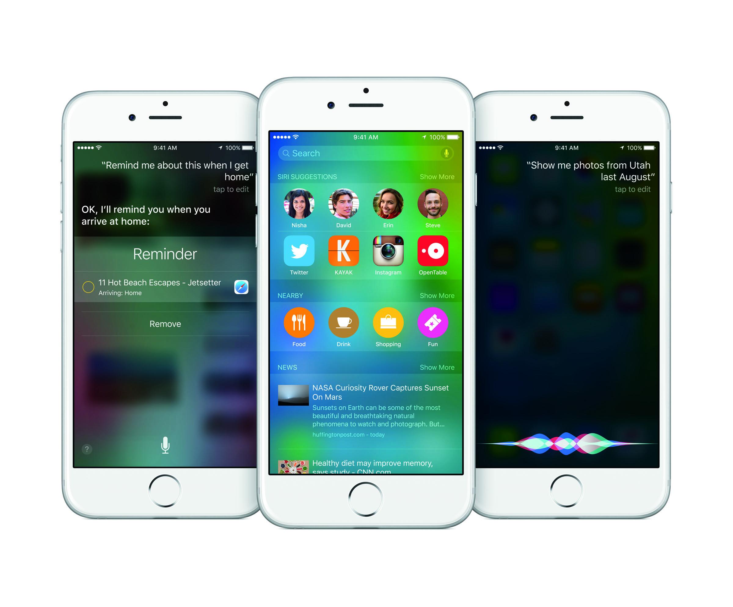 iOS 9 - 1
