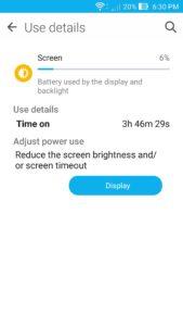 ASUS ZenFone 2 Battery Life - 6