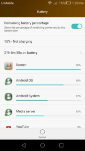 Honor 6 Plus Battery Life - 1