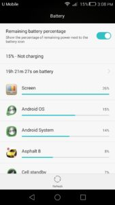 Honor 6 Plus Battery Life - 4