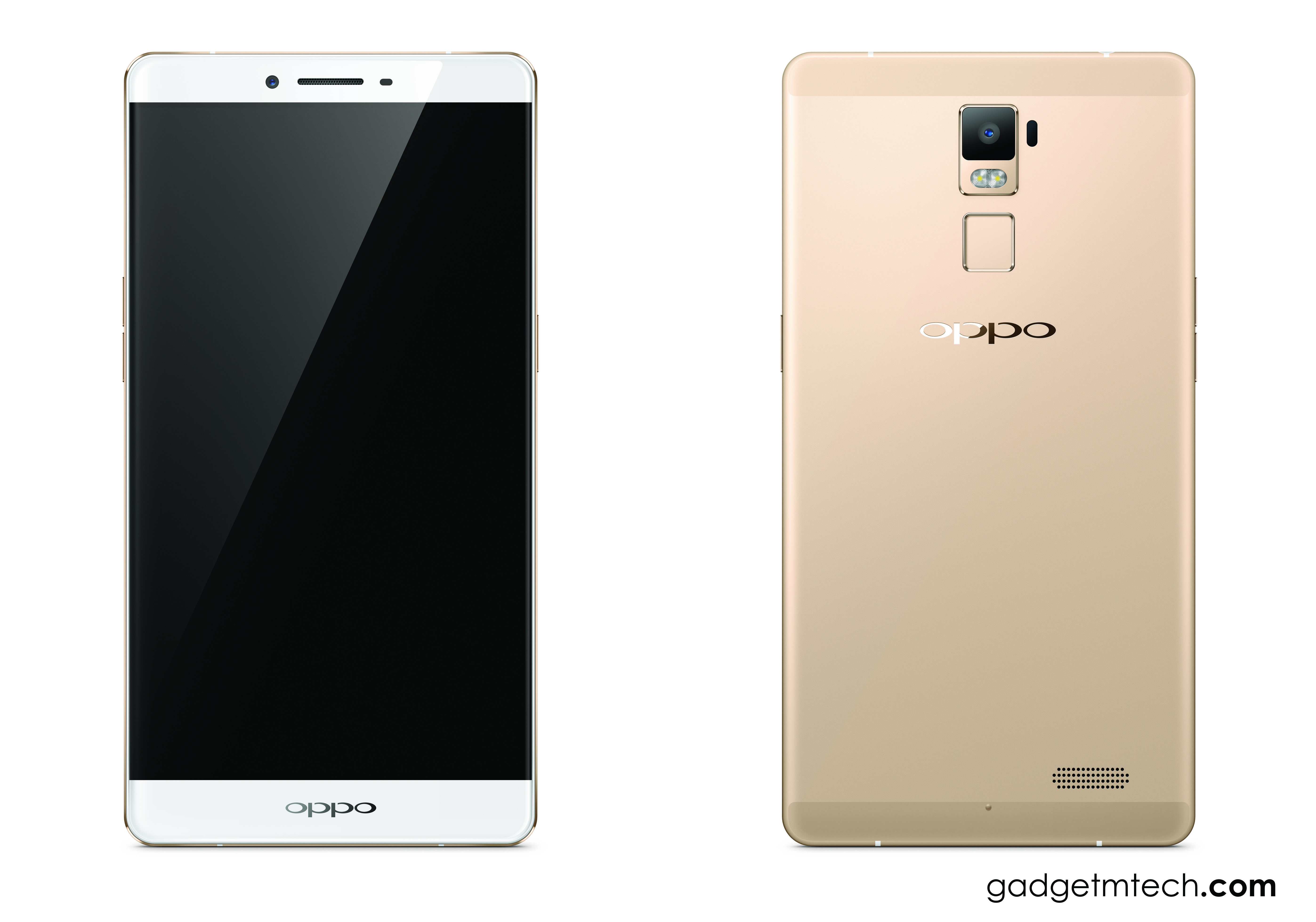 OPPO R7 Plus Gold