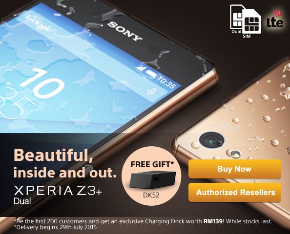 Sony Xperia Z3+ Dual Free Gift