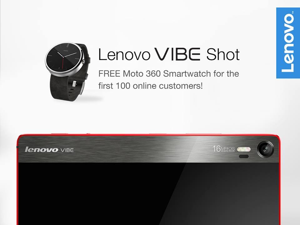 Lenovo VIBE Shot & Moto 360_1