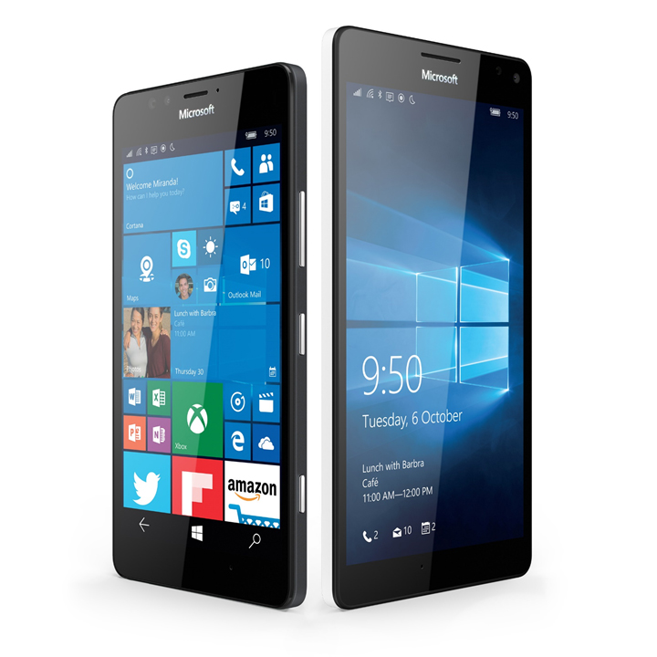 Microsoft Lumia 950 and Lumia 950 XL