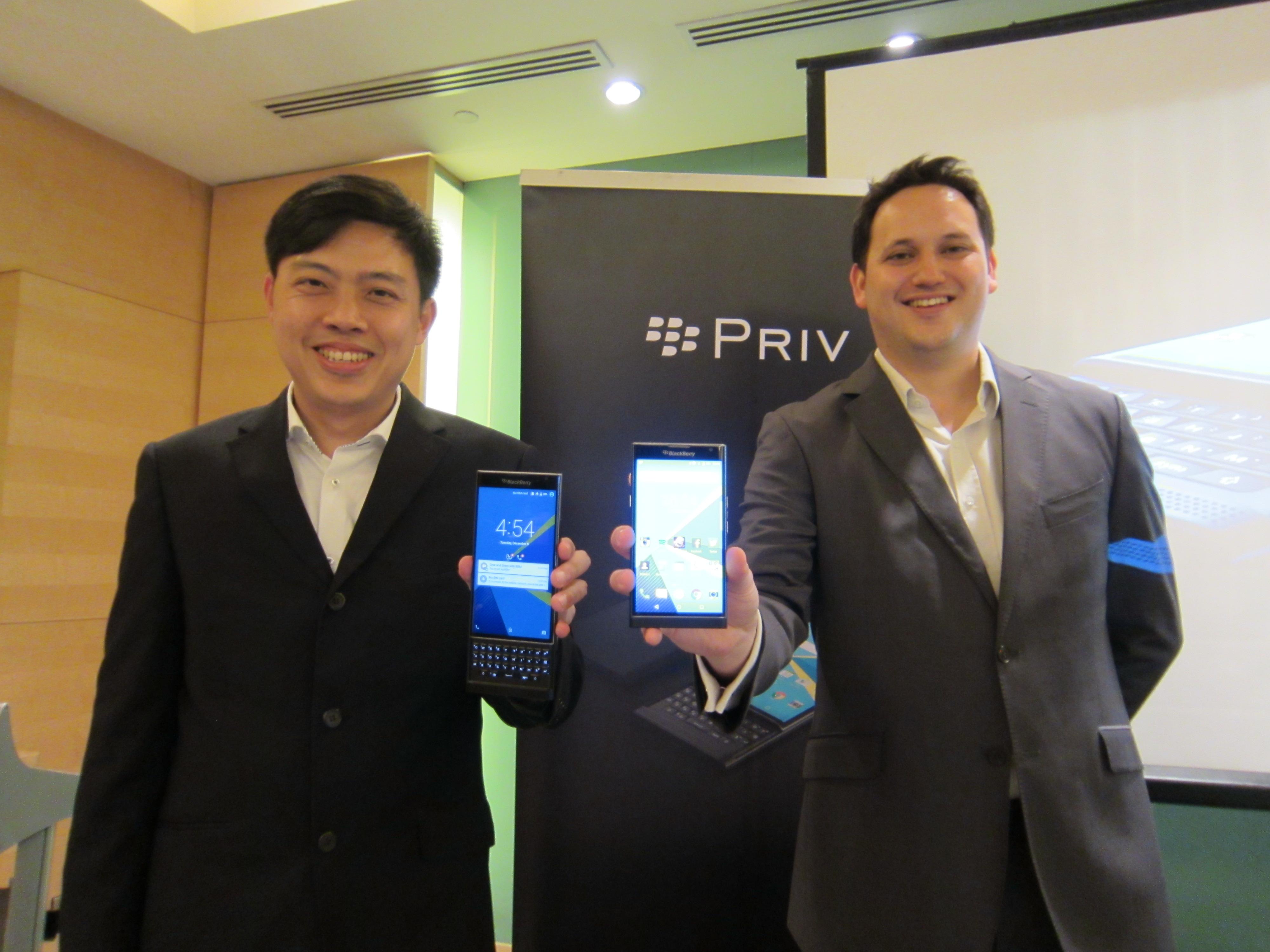 BlackBerry PRIV Launch