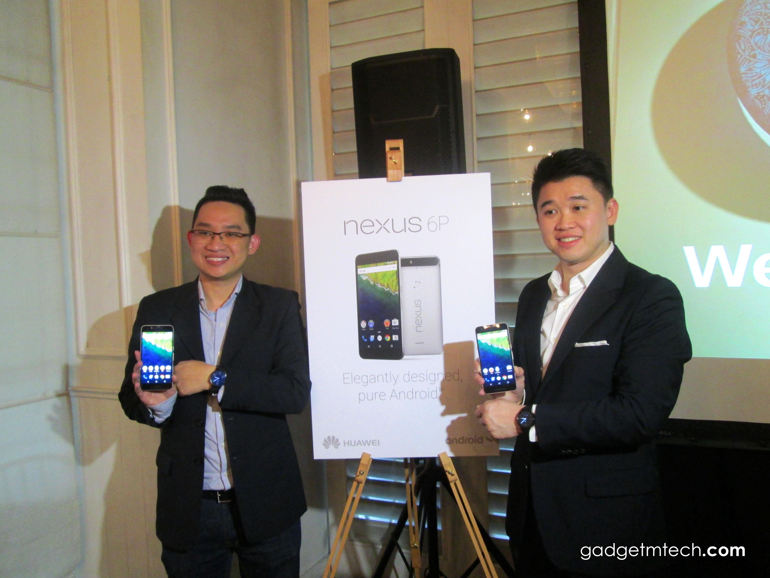 Huawei Nexus 6P and Watch