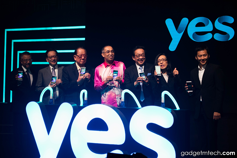 Yes 4G LTE Grand Launch