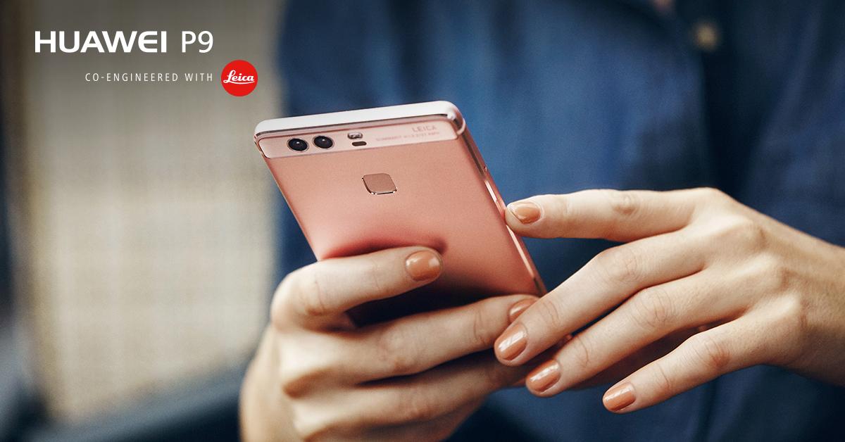 Huawei P9 Rose Gold_1