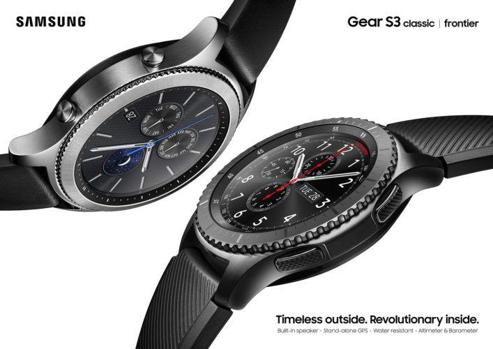Samsung Gear S3 Will Be Available in Malaysia on December 8
