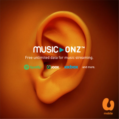 U Mobile Now Offers Unlimited Music Streaming with Music-Onz