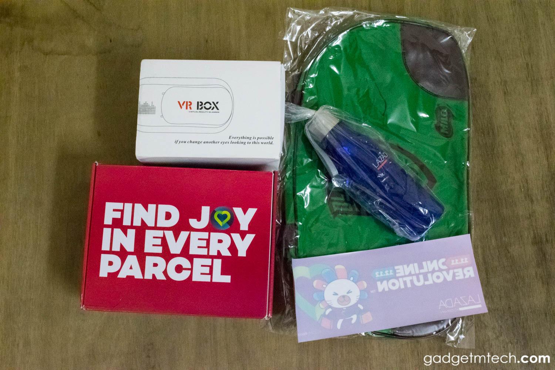 Lazada Box of Joy Unboxing_2