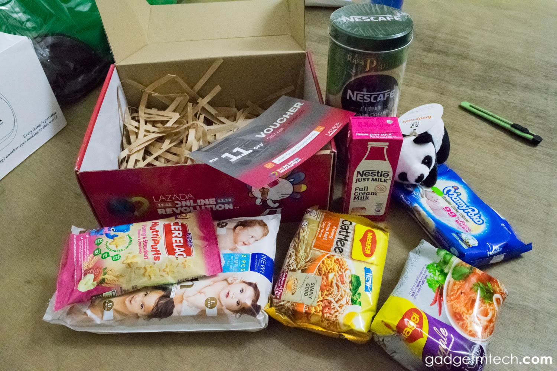 Lazada Box of Joy Unboxing_4