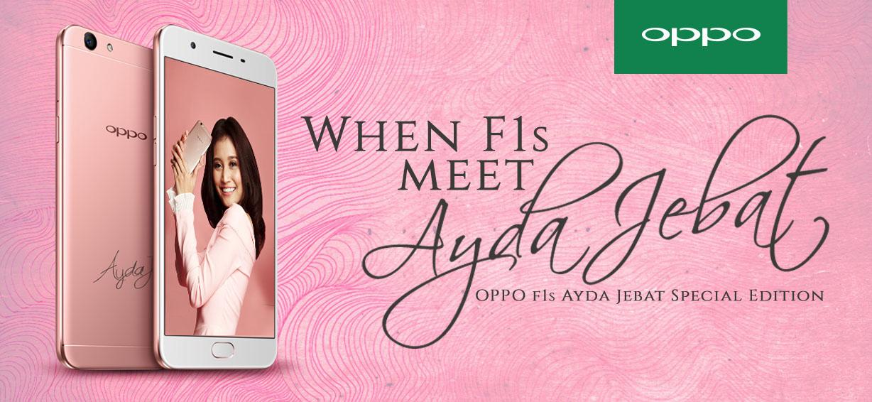 OPPO F1s Ayda Jebat Special Edition_1