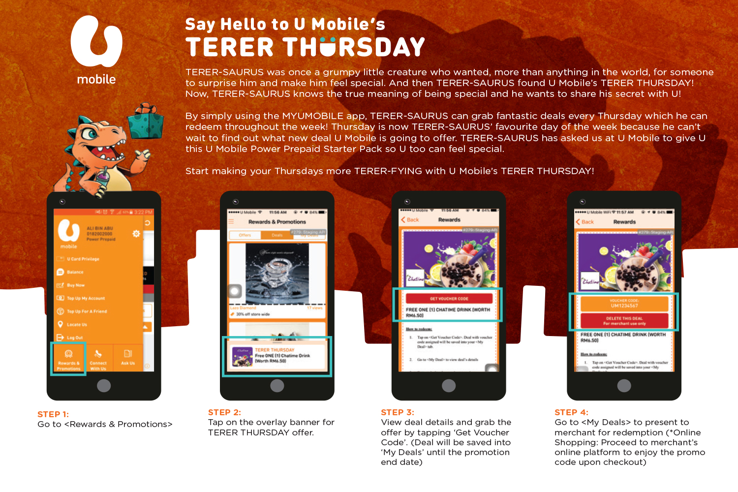U Mobile TERER THURSDAY