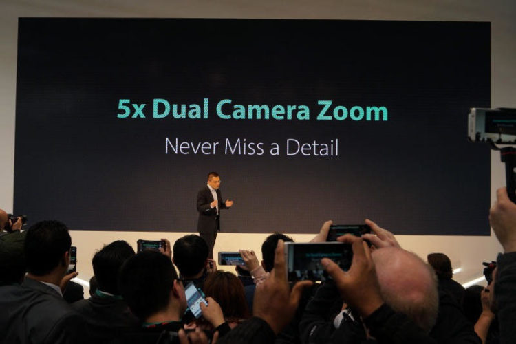MWC 2017: OPPO Unveils 5x Dual Camera Zoom Technology for Smartphones