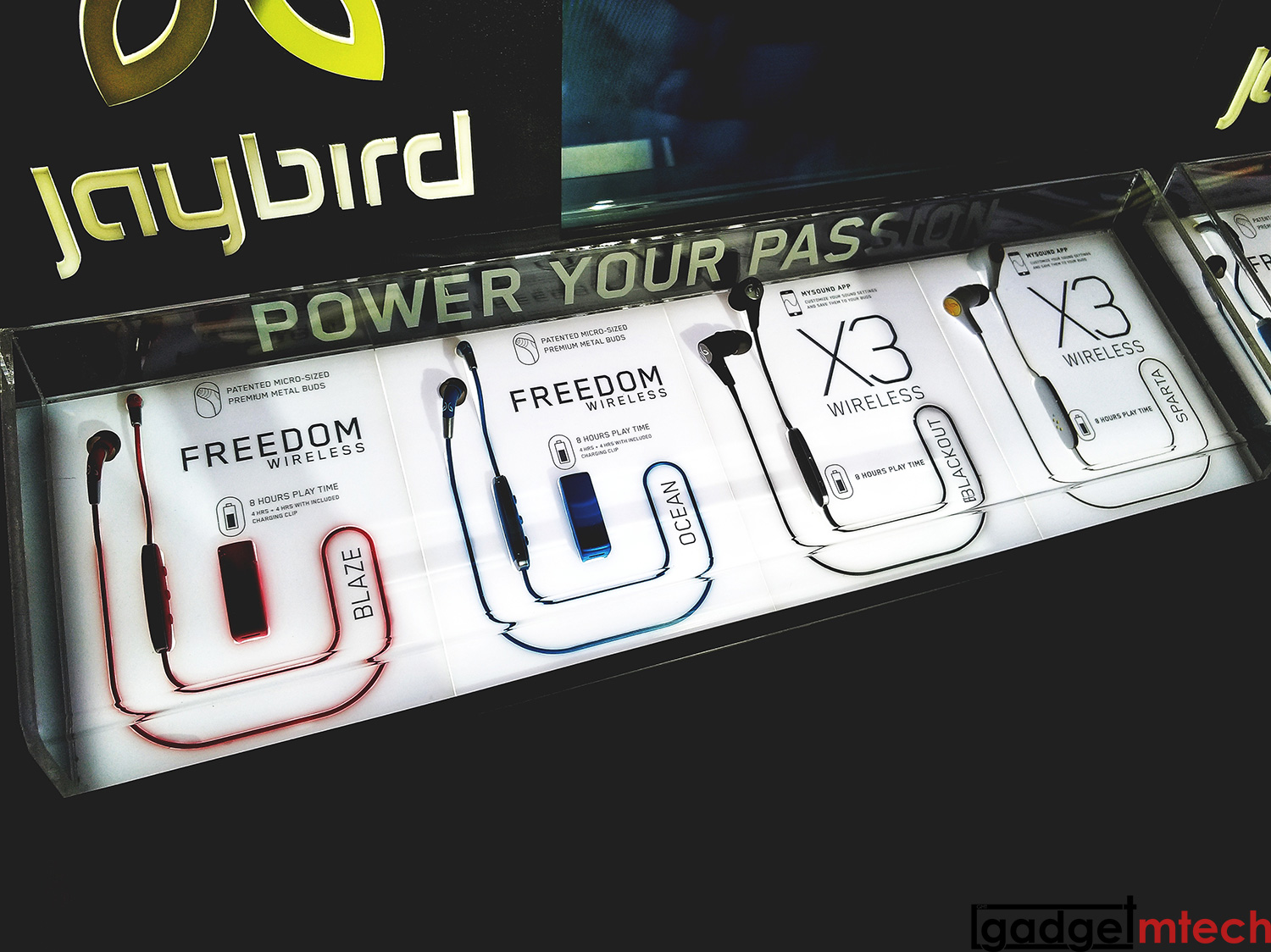 Jaybird X3 and Freedom Launch_2