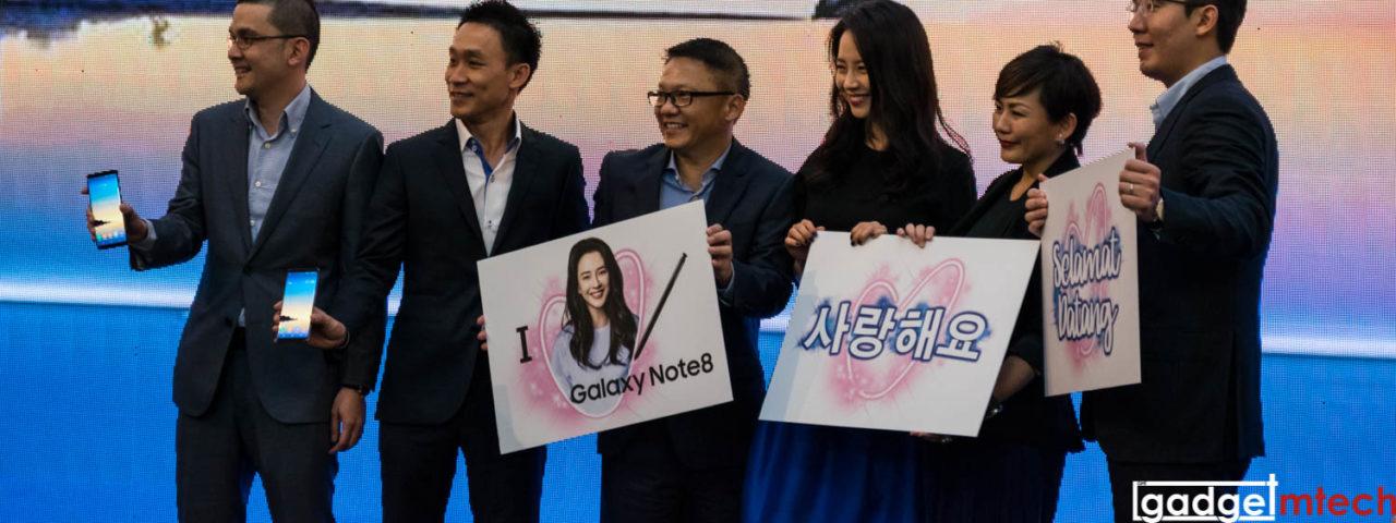 Samsung Galaxy Note8 Launch