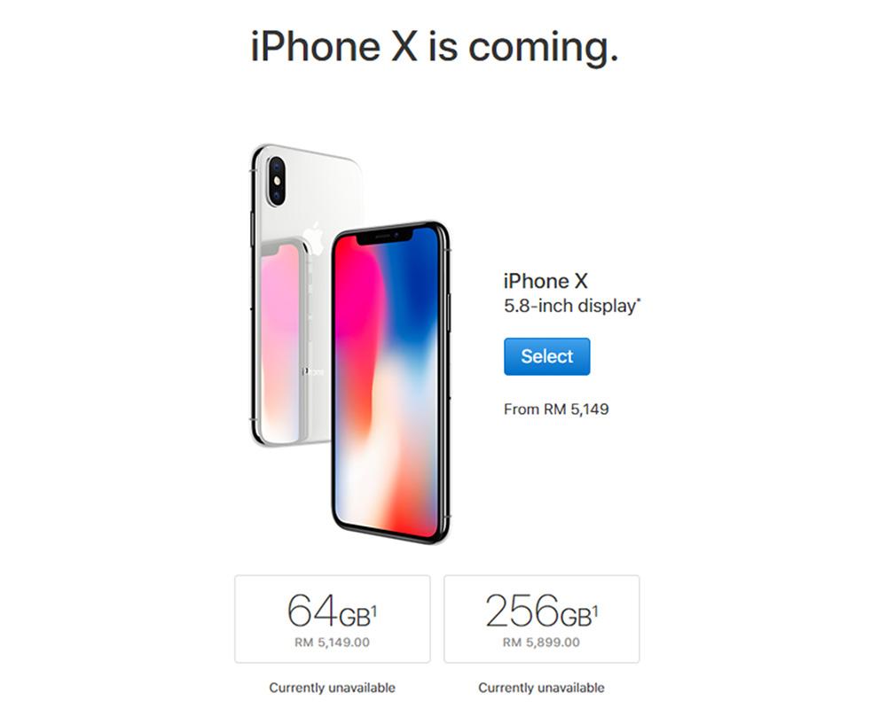 Apple iPhone X Malaysia