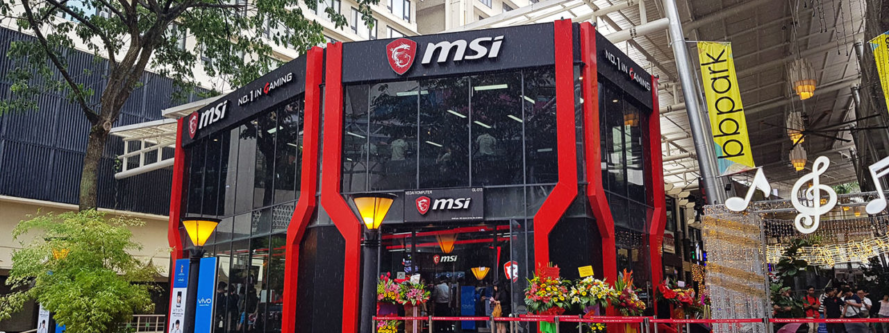 MSI World's Largest Concept Store Grand Opening