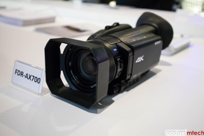 Sony Handycam AX700