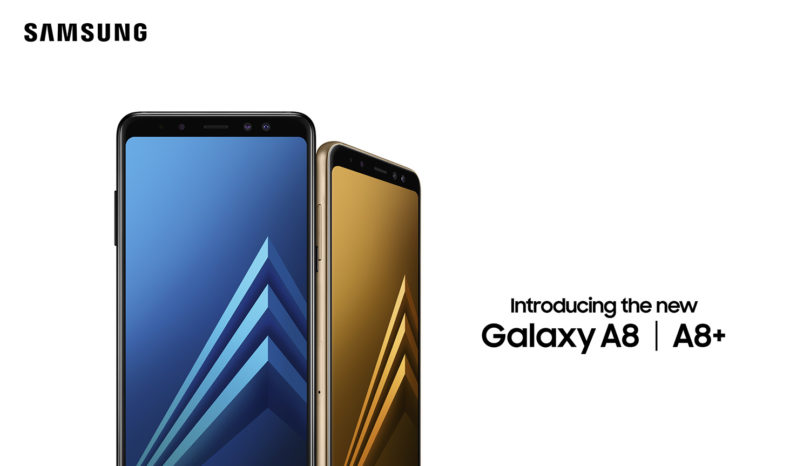 Samsung Galaxy A8 (2018) and A8+ (2018)