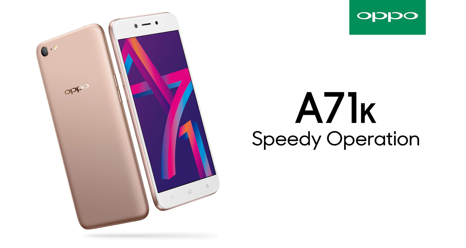 Oppo A71k Now Available In Malaysia Gadgetmtech