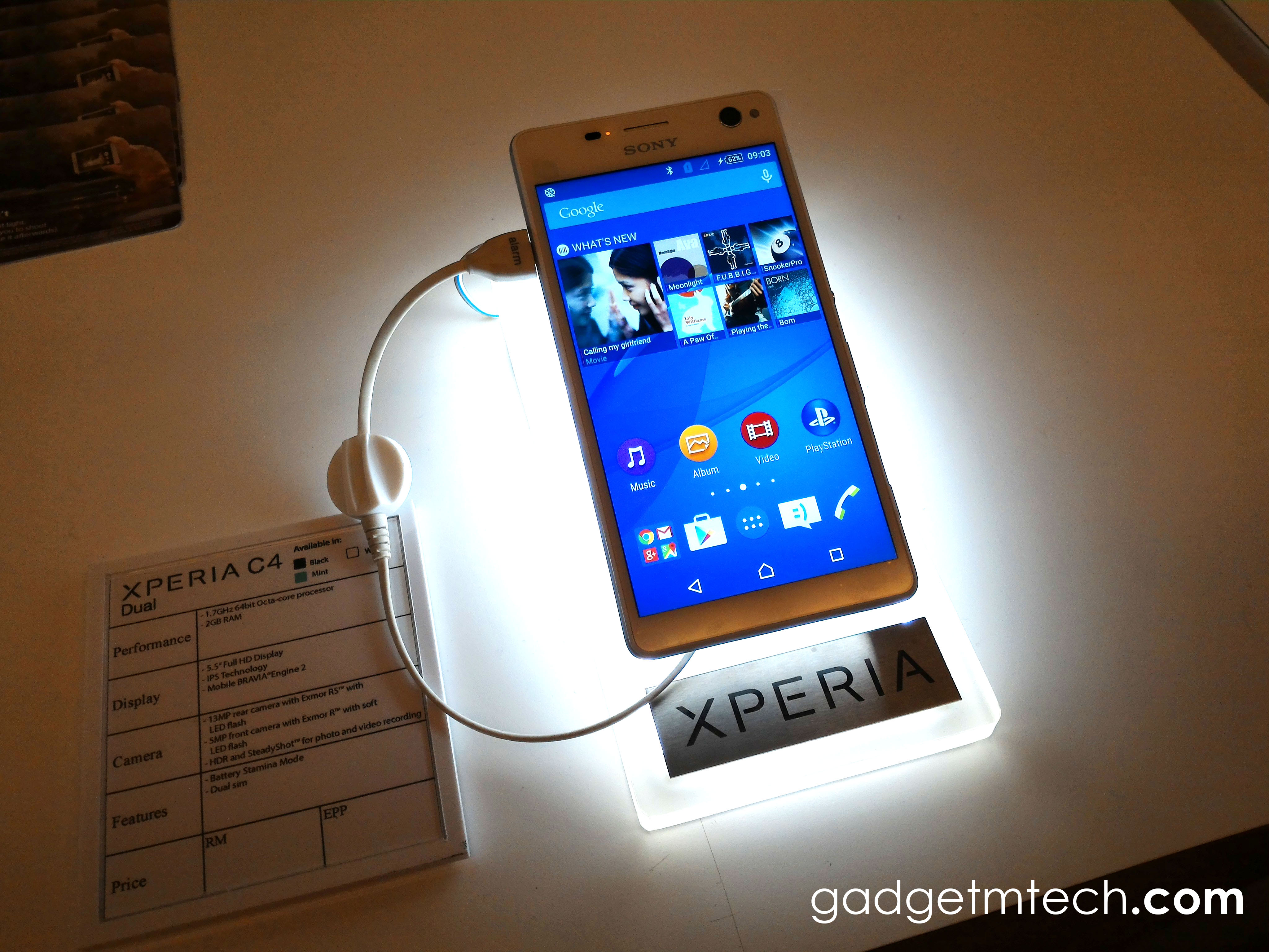 Sony Mobile Malaysia launches Xperia C4 Dual, M4 Aqua Dual