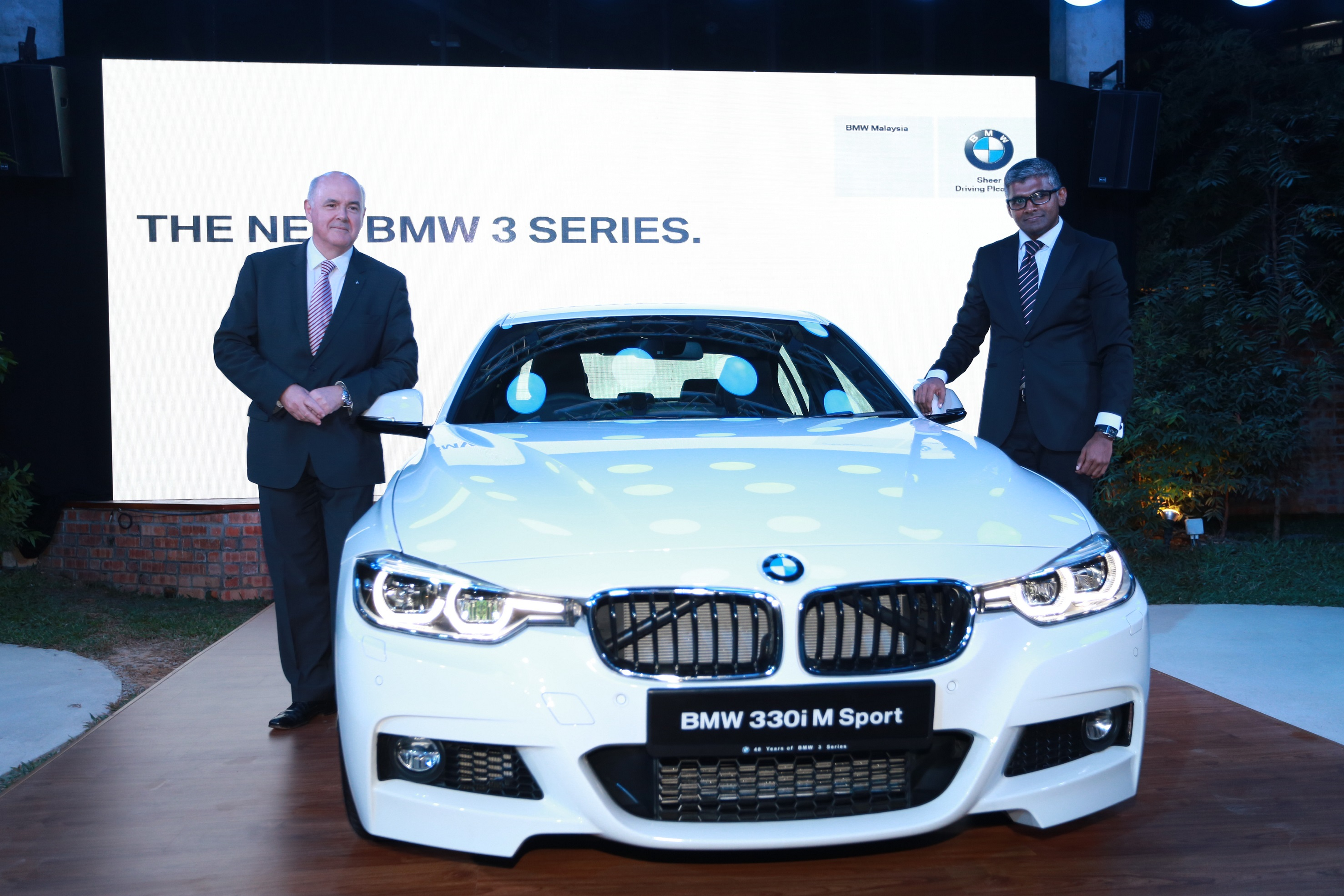 The New Bmw 3 Series With Bmw Connecteddrive Launched In Malaysia