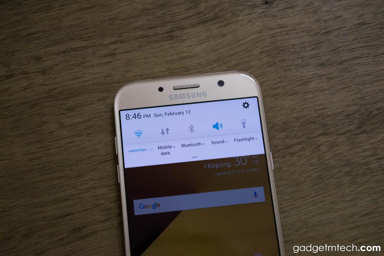 Samsung Galaxy A7 (2017) Review: When
