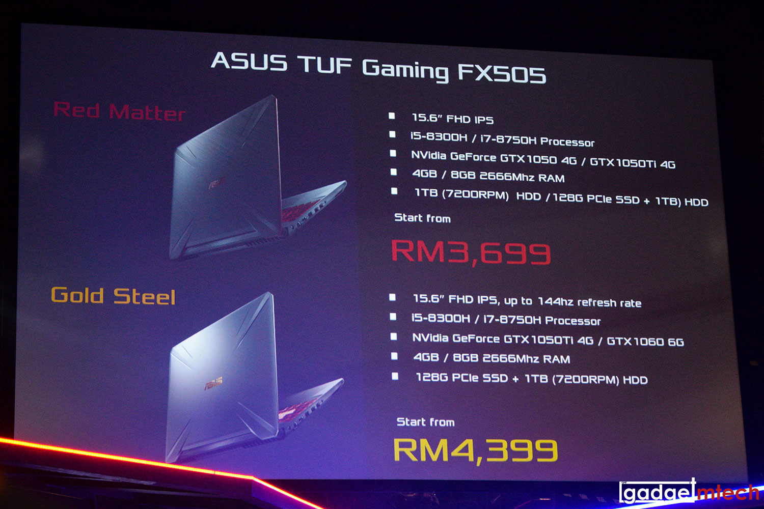 ASUS ROG Phone and TUF Gaming FX505/FX705 Officially
