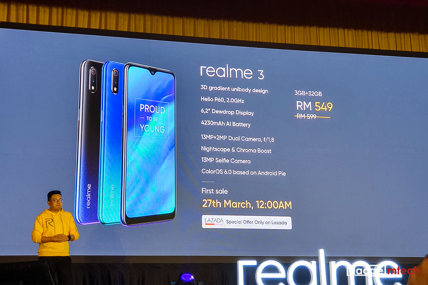 realme 3 Officially Launched in Malaysia — GadgetMTech